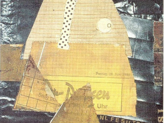 1985 / 10 - Ohne Titel - Collage