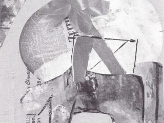 1990 / 06 - Ohne Titel - Collage